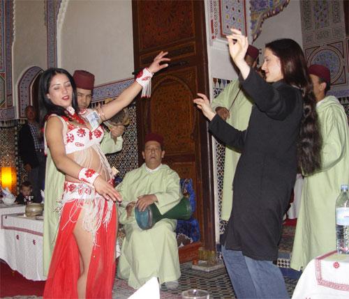 Mysterious Moroccan Dancing