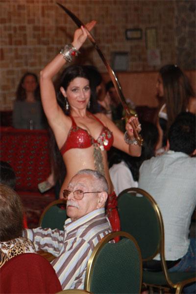 Schadia dancing w/Sword