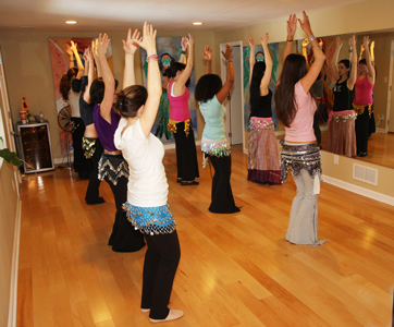 Brookhaven Belly Dance Studio Inside