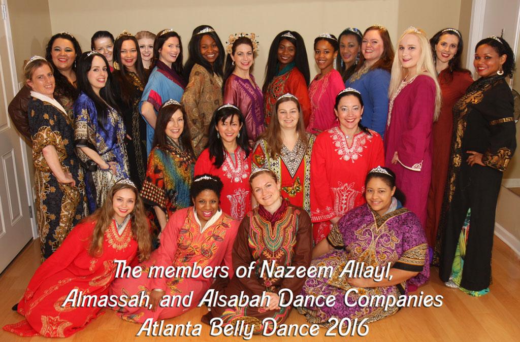 Nazeem Allayl Studio Dancers