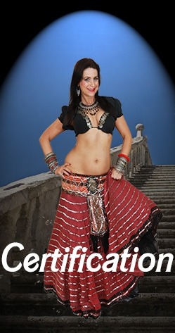 Belly Dance Level Certification