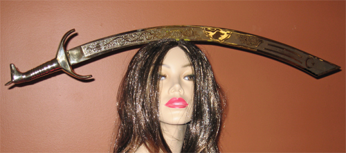 Belly Dance Props: Egyptian Sword and Scimitar